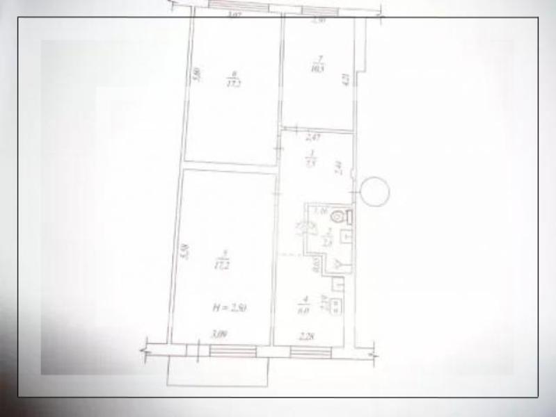 Квартира, 3-комн., Харьков, 605м/р, Юбилейный пр. (50 лет ВЛКСМ пр.)