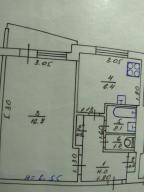 1-комнатная квартира, Харьков, Горизонт, Грицевца бульвар