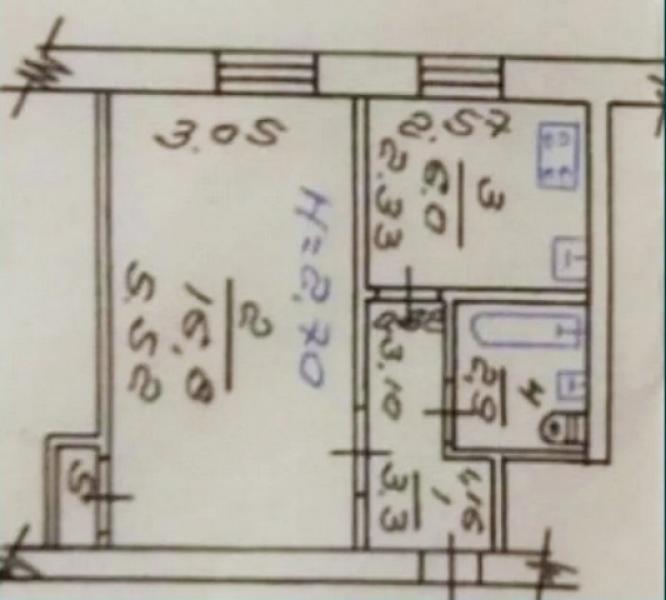 Купить 1-комнатная квартира, Харьков, Жуковского поселок, Звездная (2 Свердлова пер., Энгельса, Затонского)
