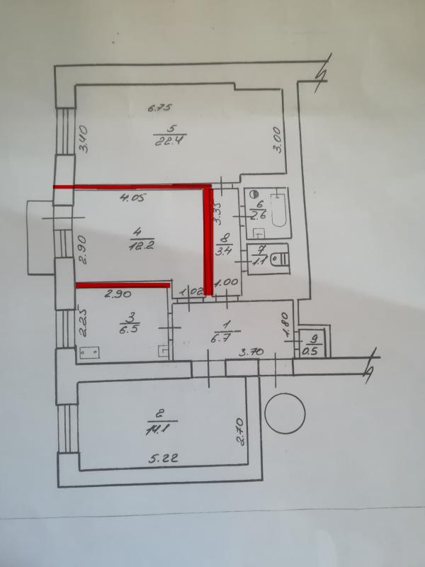 Купить 1-комнатная гостинка, Харьков, Холодная Гора, Семинарская (Володарского)