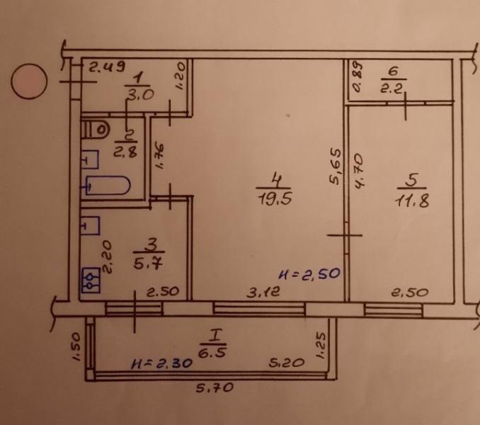 Купить 2-комнатная квартира, Харьков, Новые Дома, Харьковских Дивизий