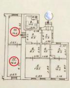 2-комнатная гостинка, Харьков, МОСКАЛЁВКА, Гольдберговская (1-й Конной Армии)