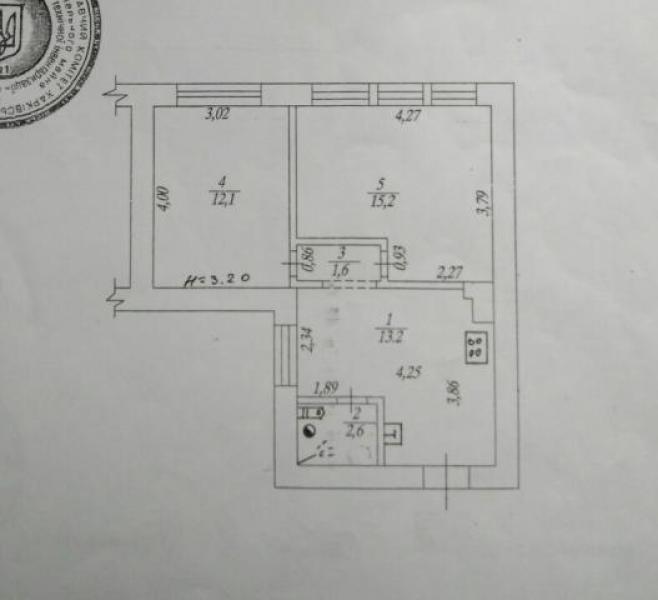 Купить 2-комнатная квартира, Харьков, Южный Вокзал, Гиевская