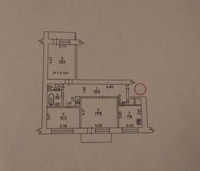 Купить 3-комнатная квартира, Харьков, Завод Шевченко, Власенко
