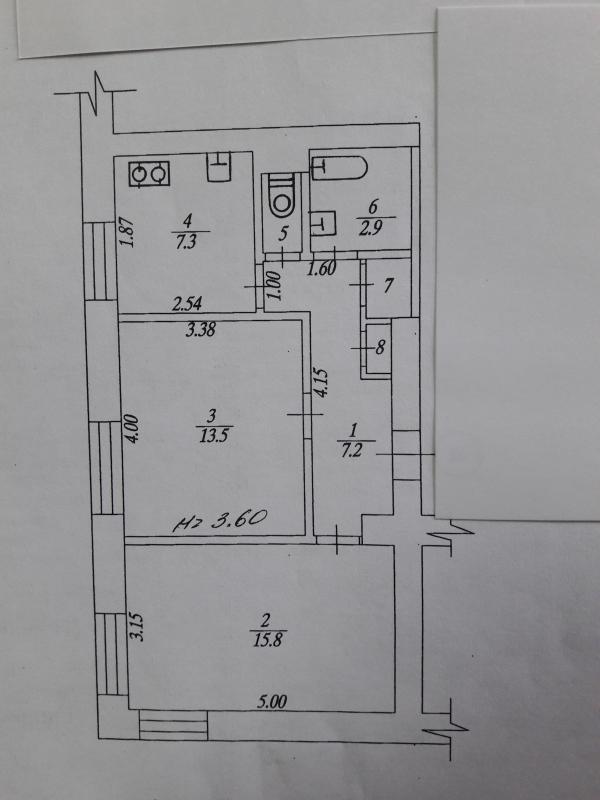 Купить 2-комнатная квартира, Харьков, Старая салтовка, Ивана Камышева