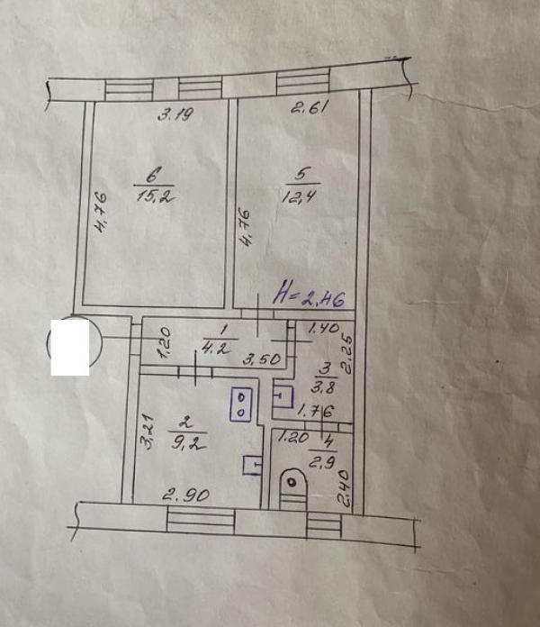 Купить 2-комнатная квартира, Харьков, Старая салтовка, Салтовское шоссе
