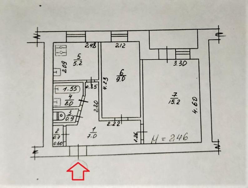 Купить 2-комнатная квартира, Харьков, Павлово Поле, 23 Августа (Папанина)