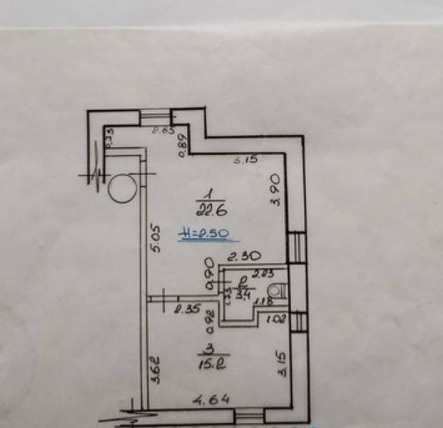 Купить 1-комнатная квартира, Харьков, Залесская
