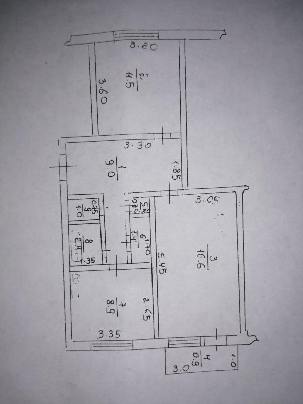 Купить 2-комнатная квартира, Липковатовка, Редина (Комсомольская), Харьковская область