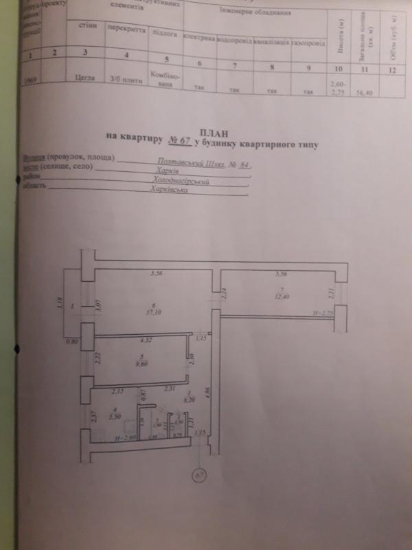 Купить 3-комнатная квартира, Харьков, Южный Вокзал
