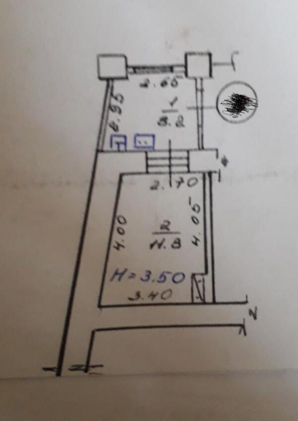 Купить 1-комнатная квартира, Харьков, МОСКАЛЁВКА, Валерьяновская