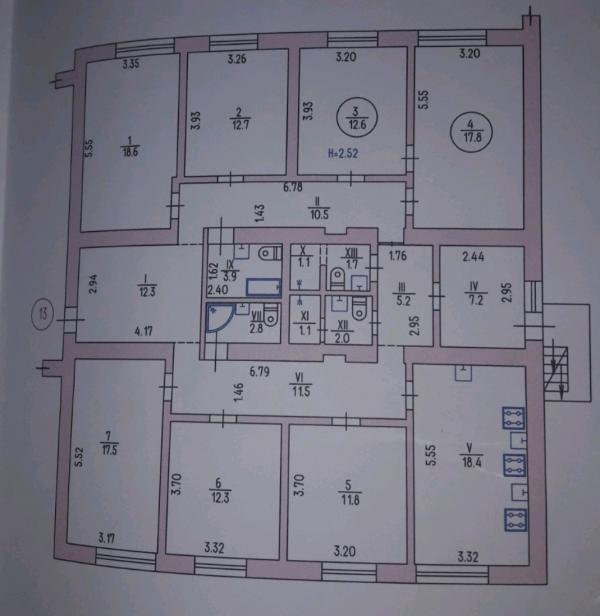 Купить 2-комнатная гостинка, Харьков, Павлово Поле, 23 Августа