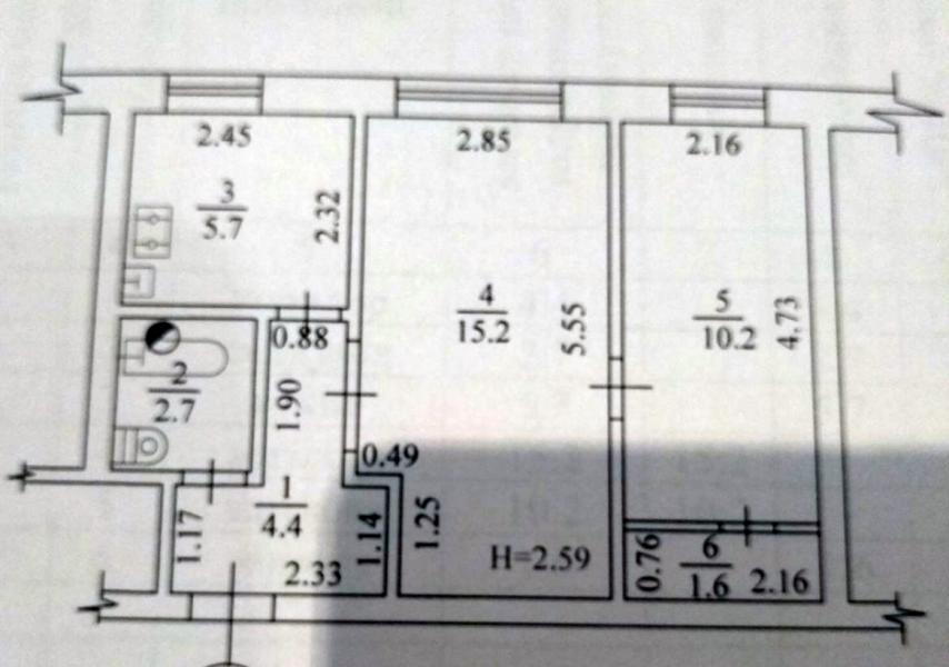 Купить 2-комнатная квартира, Харьков, Защитников Украины метро, Академика Павлова