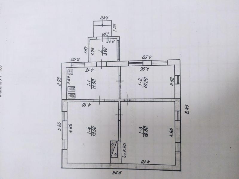 Купить 1-комнатная квартира, Липцы, Селянская (Совхозная, Пионера), Харьковская область