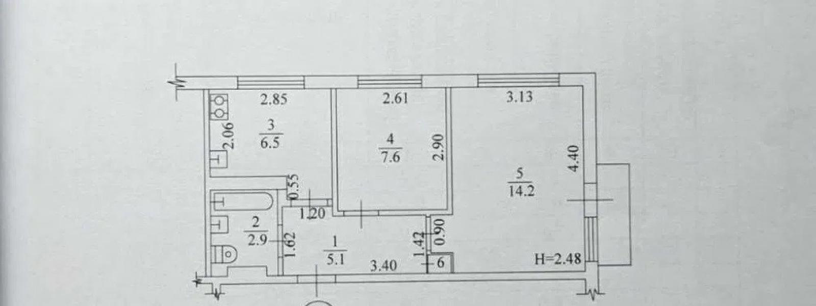 Купить 2-комнатная квартира, Харьков, Восточный, Мира