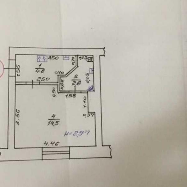 Купить 1-комнатная квартира, Харьков, Центр, Крымская