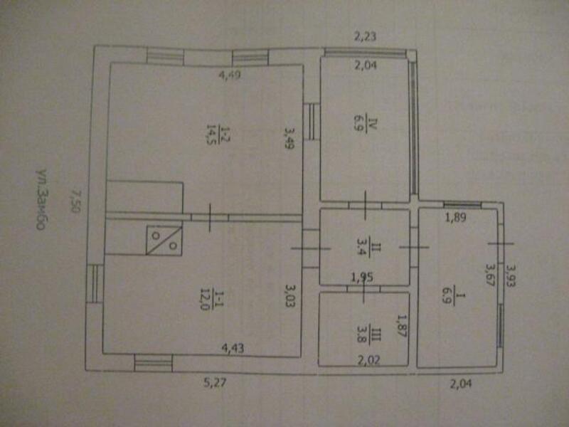 дом, 4 комн, Харьковская область, Чугуевский район, Старая Гнилица, Чугуевское направление (397643 4)
