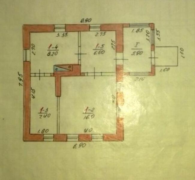 Дом, Александровка, Харьковская область (442026 1)