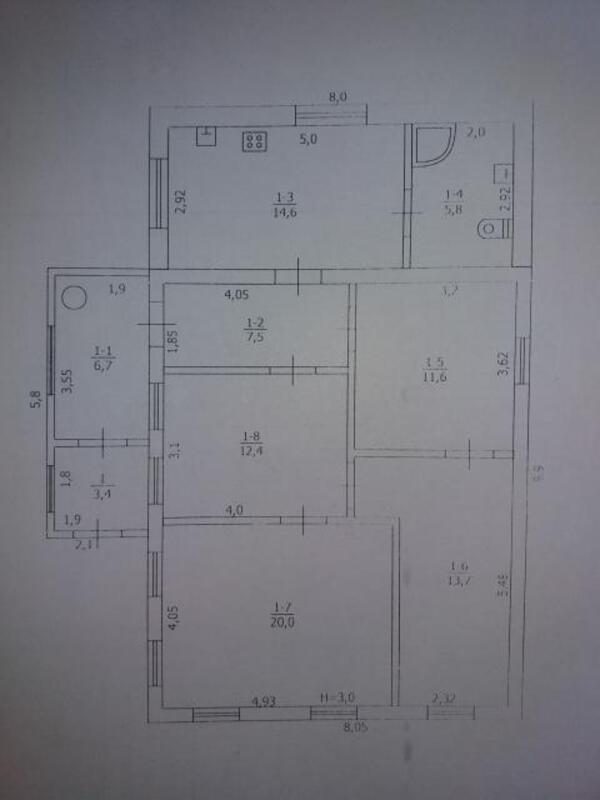 дом, Чугуев, Харьковская область (442839 2)