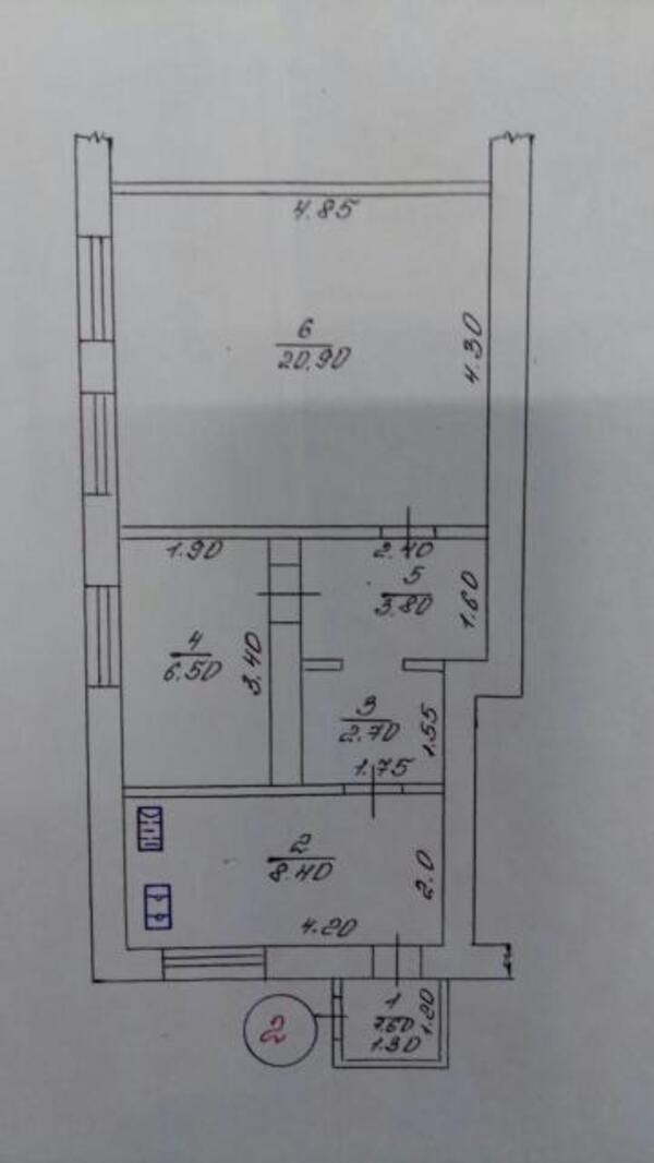 дом, 2 комн, Харьков, МОСКАЛЁВКА (447084 1)