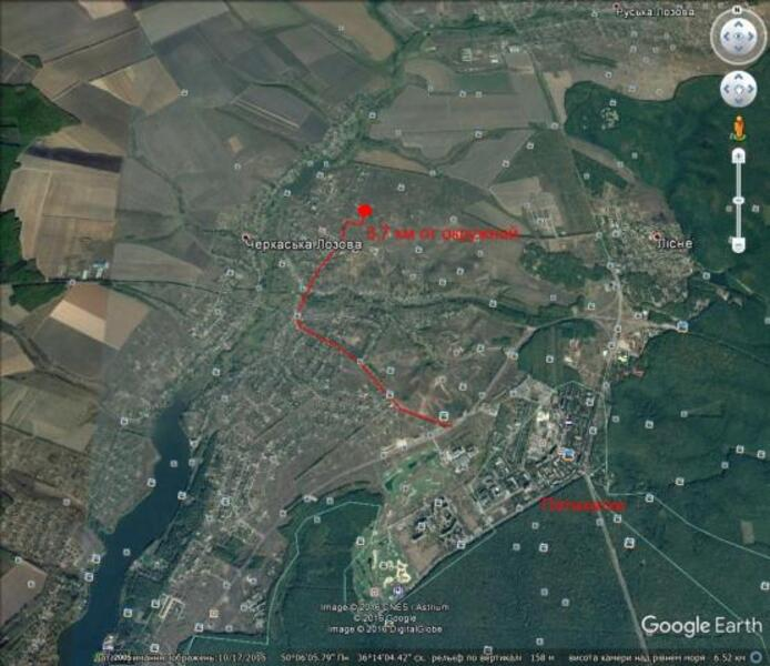 участок 15 сот., Семеновка, Харьковская область (441108 2)