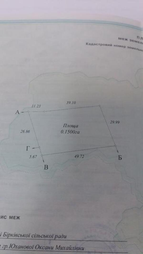 участок 15 сот., Буды, Харьковская область (510484 1)