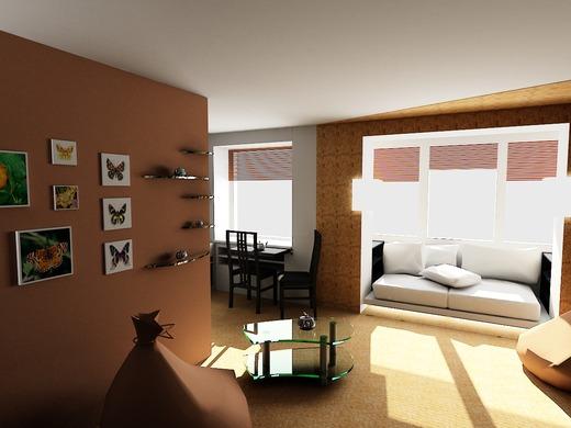 Однокомнатные квартиры в Харькове (520x0resize interior16700 7 1371463077)