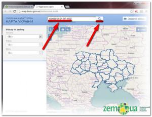 Публичная кадастровая карта Украины