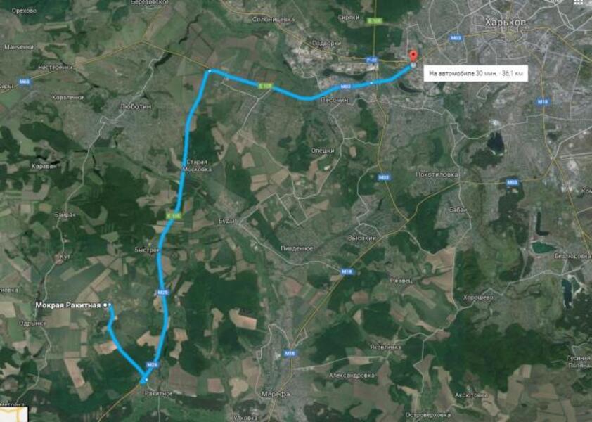 участок, Харьковская область, Нововодолажский район, Ракитное, Мерефянское направление (97935 3)