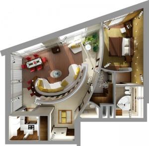 Новая тенденция рынка недвижимости (plan 300x294)